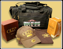 Smoke Inn Series Of Poker Duffle Bag